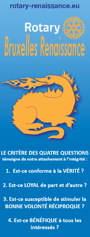 LE CRITÈRE DES QUATRE QUESTIONS TÉMOIGNE DE NOTRE ATTACHEMENT À L'INTÉGRITÉ